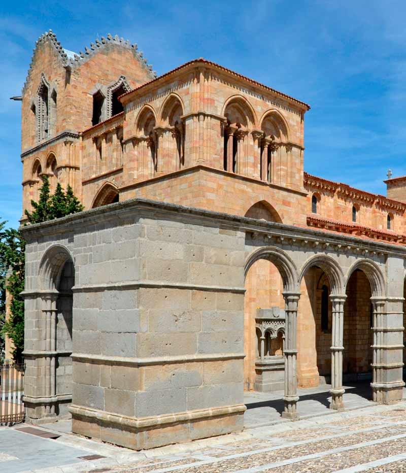 Basilica de San Vicente en Avila