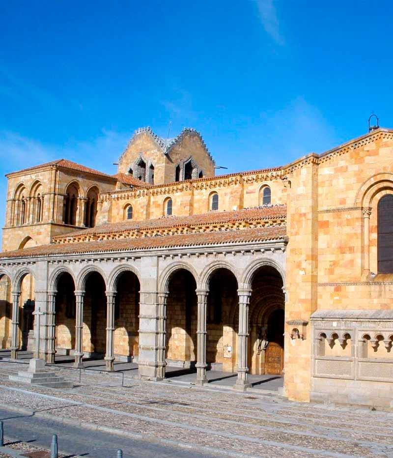 Iglesia de San vicente Ávila