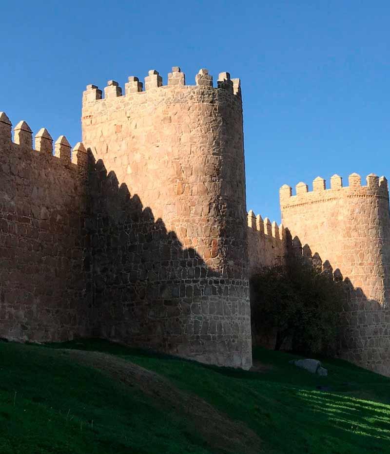 vistas muralla de Avila
